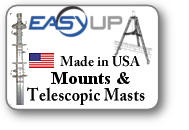 Easy Up Mounts and Mast Category Logo