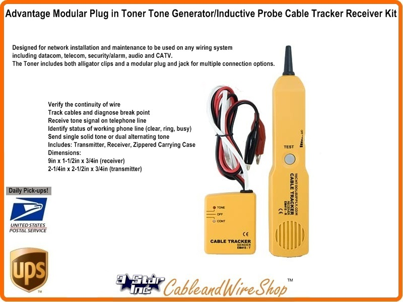 Advantage Modular Plug In Toner Tone Generator With