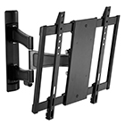 "27"" - 42"" FLAT PANEL DOUBLE ARM MOUNT -BLACK - FP-MLPAB"