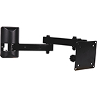 "10"" - 23"" FLAT PANEL ARM MOUNT - BLACK - LCD-1B"