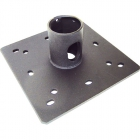 "1.5"" PIPE CEILING PLATE WITH CABLE PASS THROUGH"