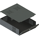 LOW PROFILE DVR LOCKBOX / STORAGE LOCKBOX