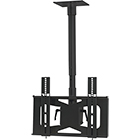 "27"" - 42"" FLAT PANEL CEILING MOUNT - BLACK - VMP LCD-MID-CB"