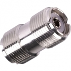 UHF Female to UHF Female Barrel Connector Coupler