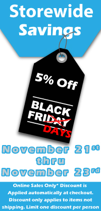 Storewide Black Friday Sale - 5% off!