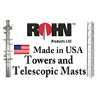 Rohn Towers, Masts, and Accessories For Sale