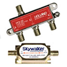Coaxial Splitters & Amplifiers