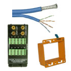 Bundled Network Cable, Structured Wall Panels, Accessories & Voltage Boxes