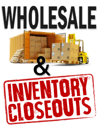 Wholesale and inventory closeouts