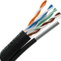 CAT6 Outdoor Rated Messenger Cable