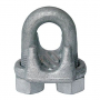"1/8""  Down Guy Wire Cable Clamp Galvanized Forged Steel"