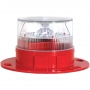 Automatic Solar Powered LED Low-Intensity obstruction Light
