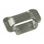 "Stainless Grade 201 Ear Lock Style 3/4"" Buckle"