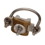ROHN CPC1.5/2 Fixed Rigid Base Section Grounding Clamp