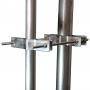 "3 Star Inc. EZ-EC-PTP-6 Pole to Pole Antenna Mast Mount up to 4.00"" OD"