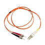 LC to ST 62.5/125um Multimode Duplex Fiber Optic 2.0mm Patch Cable