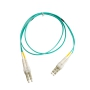 LC to LC OM3 Multimode Duplex Fiber Optic 2.0mm Patch Cable