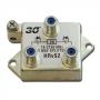 HOLLAND Vert. 2-Way Splitter 15-2150 MHz. Power Pass with Ground