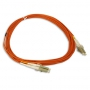 LC to LC OM1 Multimode Duplex Fiber Optic 2.0mm Patch Cable