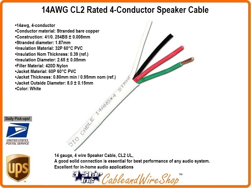 14 4 500_800x600t cl2 rated 4 conductor speaker cable 4 conductor speaker wire diagram at creativeand.co