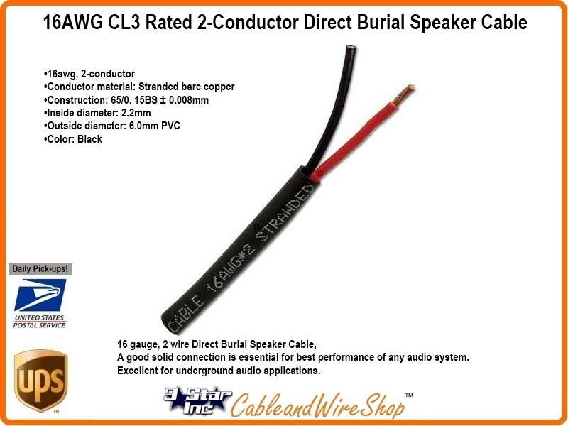 Wire size 16awg wire center 16 awg 2 conductor direct burial speaker cable water block tape rh 3starinc com wire size awg mm2 wire size awg to metric greentooth Images