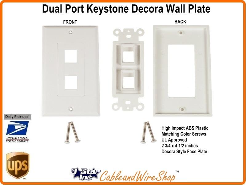 Keystone Wall Plate Decora