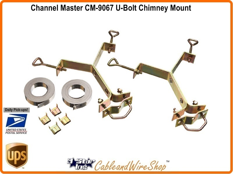 Channel Master Cm 9067 Y Type Hdtv Antenna Chimney Mount