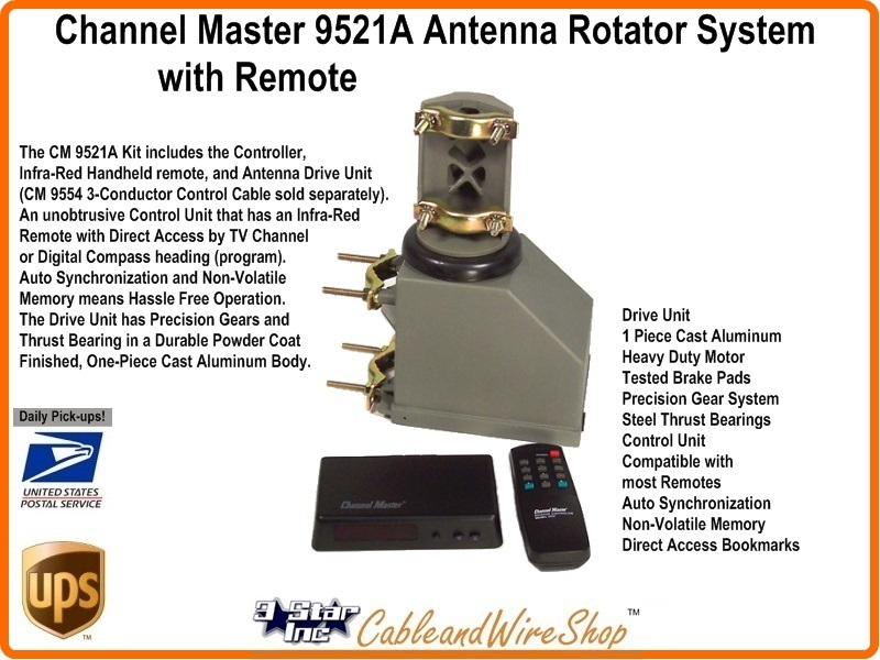 Channel Master Rotor Control Box Antenna Rotator – Fondos de Pantalla