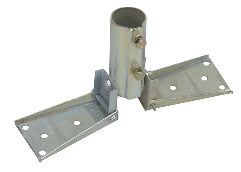Ez17a Roof Base Mount For Telescopic Antenna Mast 3 Star Incorporated