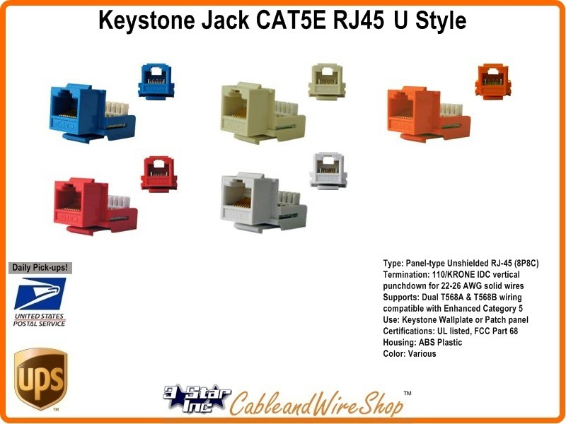 KeyCAT5 U_800x600t cat5e rj45 keystone voice data jack red h 3 star incorporated