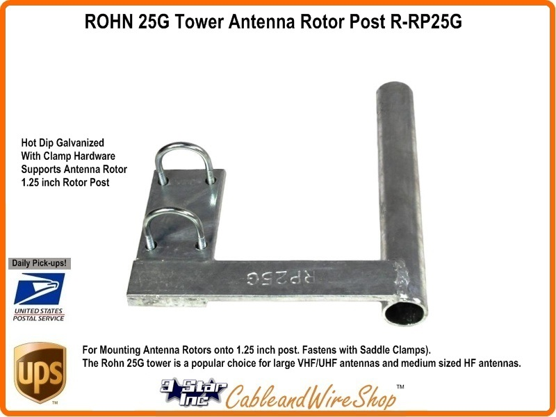Rohn 25g Tower Antenna Rotor Post R Rp25g 3 Star