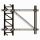 ROHN 65G 45 Foot Self Supporting Tower R-65SS045
